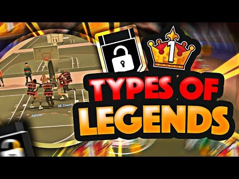 NBA2K17- TYPES OF LEGENDS! WHAT BEING IMMORTALIZED REALLY MEANS!!
