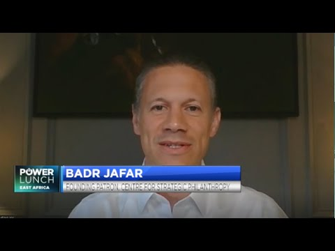 CNBC Africa interview with Badr Jafar: How philanthropy can help bridge the funding gap to meet SDGs