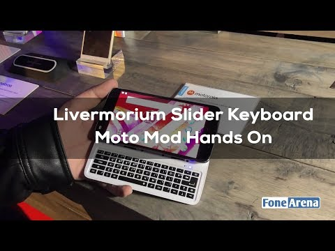 Livermorium Slider Keyboard Moto Mod Hands On