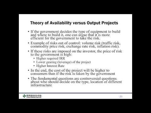 Project Finance Lecture - Part 1