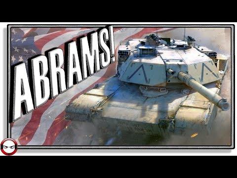 M1 Abrams gameplay! (War Thunder Gameplay)