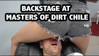 Behind the scenes at Masters of Dirt Chile | Georgie Fechter Vlog #46