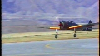 Oscar Fighter Taxi & Lift Off New Zealand 1996.