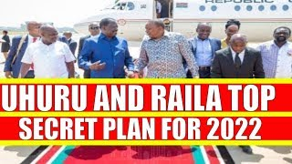 Uhuru Kenyatta and Raila Odinga Preparing for 2022 Elections Without William Ruto