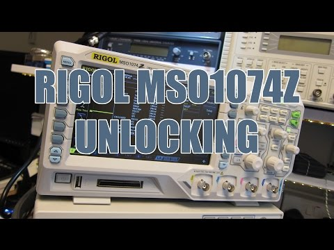 how to turn rigol ds1054z to 100mhz