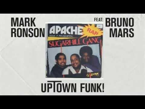 Mark Ronson Bruno Mars & The Sugar Hill Gang  Uptown Apache Funk JTKO mash up 2015