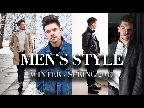 Winter To Spring Men's Style Inspiration | What To Wear