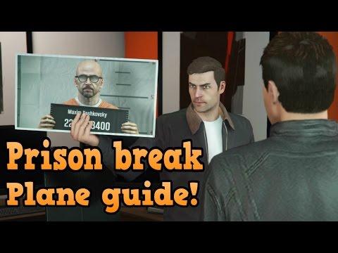 GTA Online Heists Guides - Prison Break - Plane