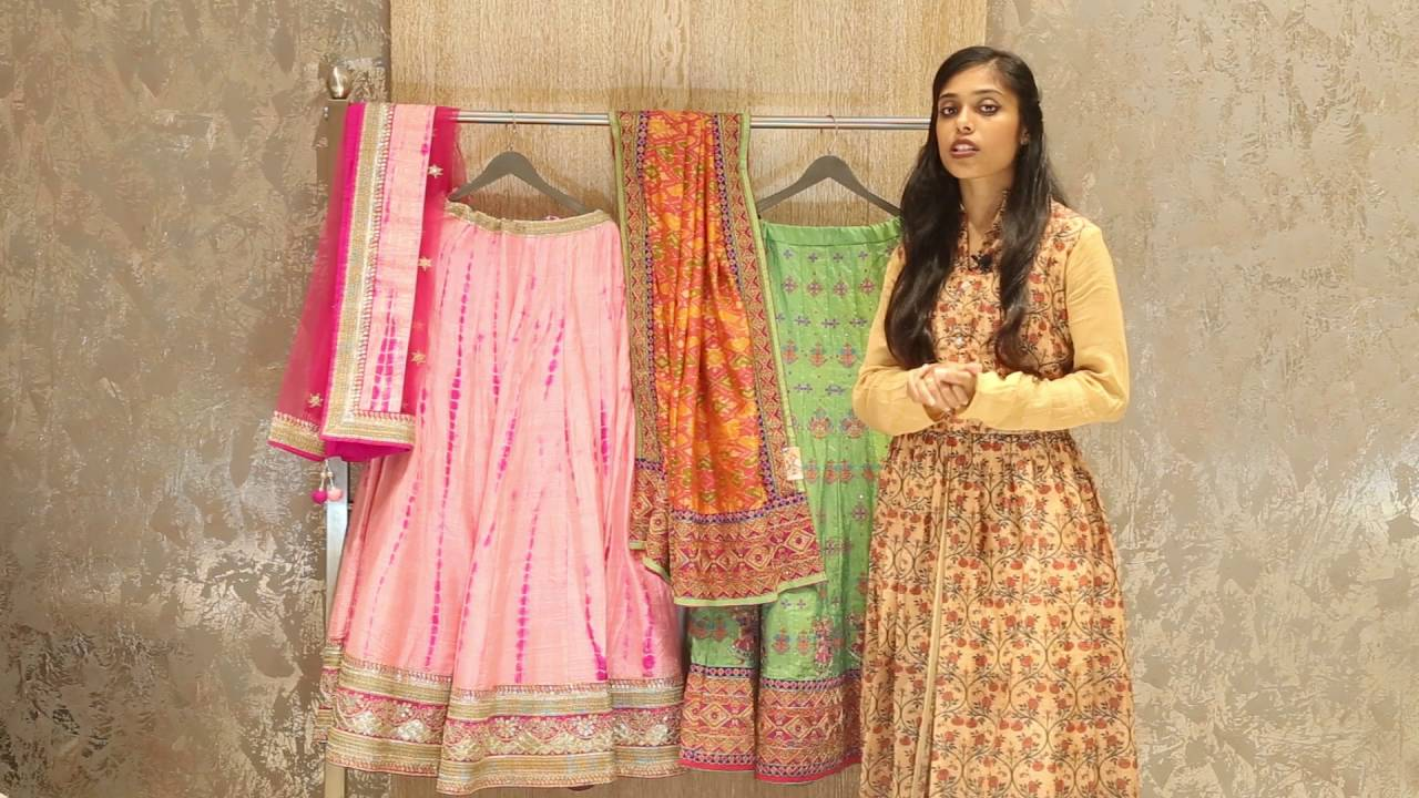 07f505e885 Navratri Chaniya Choli Designs - Ghagra and Choli Designs - YouTube