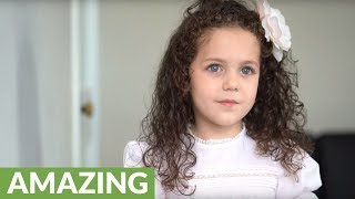 Amazingly talented 5-year-old sings 'Tomorrow' from Annie