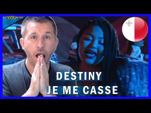 MALTA: Destiny - Je Me Casse REACTION (Malta Eurovision 2021)