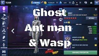 รีวิว Ghost ยู Ant-man and the Wasp - Marvel Future Fight
