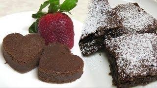 Eggless Chocolate Brownie Recipe By Bhavna - Valentine Special Recipe