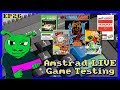 Amstrad Game Testing LIVE Ep26 Feat Treasure Island Dizzy & On The Run (RE-UPLOAD)