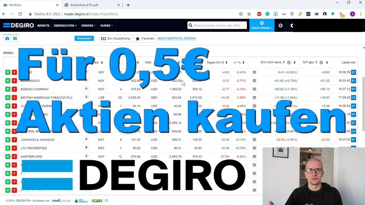 Degiro Depot Erfahrungen