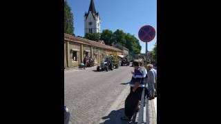 Traktorparad Nora nationaldagen 2016