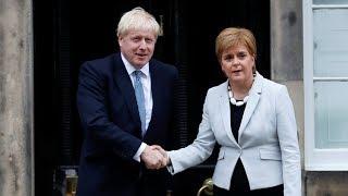 Boris Johnson is 'pursuing no deal,' says Nicola Sturgeon