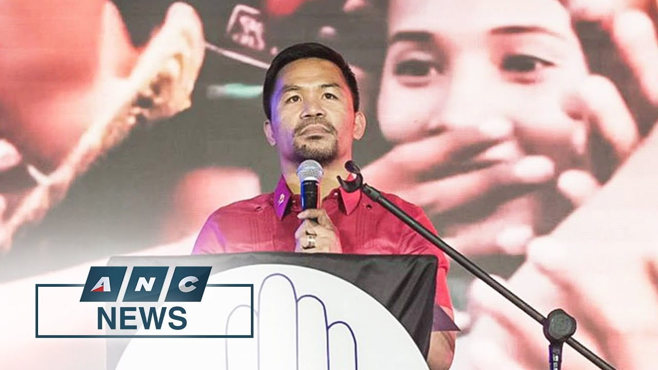 Download Manny Pacquiao declares presidential bid for 2022 | ANC