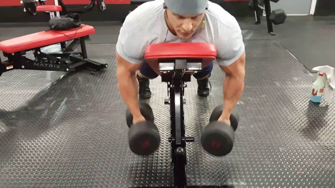 Building Back Muscle Incline Dumbbell Rows Youtube