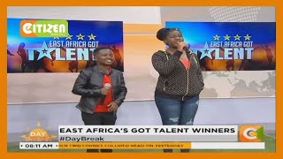 Esther and Ezekiel Mutesasira win the East Africa's Got Talent competitions