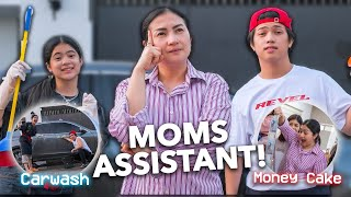 Being MOMS ASSISTANTS For A DAY! (Mothers Day!!) | Ranz and Niana