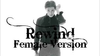 Zhoumi (Super Junior M) - Rewind (Korean ver.) feat. Chanyeol & Tao (EXO) [Female Version]
