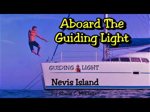 Nevis travel video - with a couple special guest
