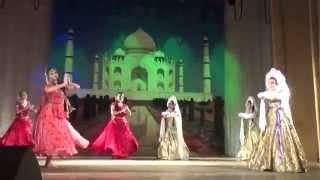 Show ballet AMRAPALI Russia -Leena Goel -Russian-Indian fusion dance