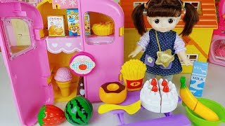 Baby Doll refrigerator bag and picnic story music play - ToyMong TV 토이몽