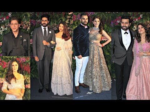 Virat Kohli And Anushka Sharma GRAND Reception In Mumbai