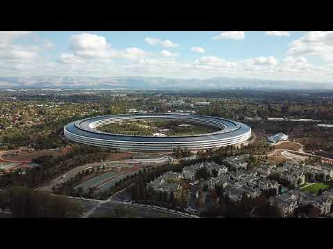 Apple park in Cupertino