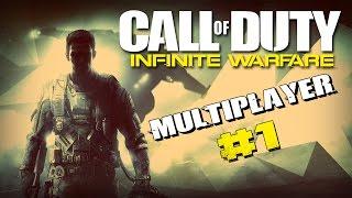 Infinite Warfare mutiplayer pl - Pierwsza gra na żywo! - #1 Call of Duty IW