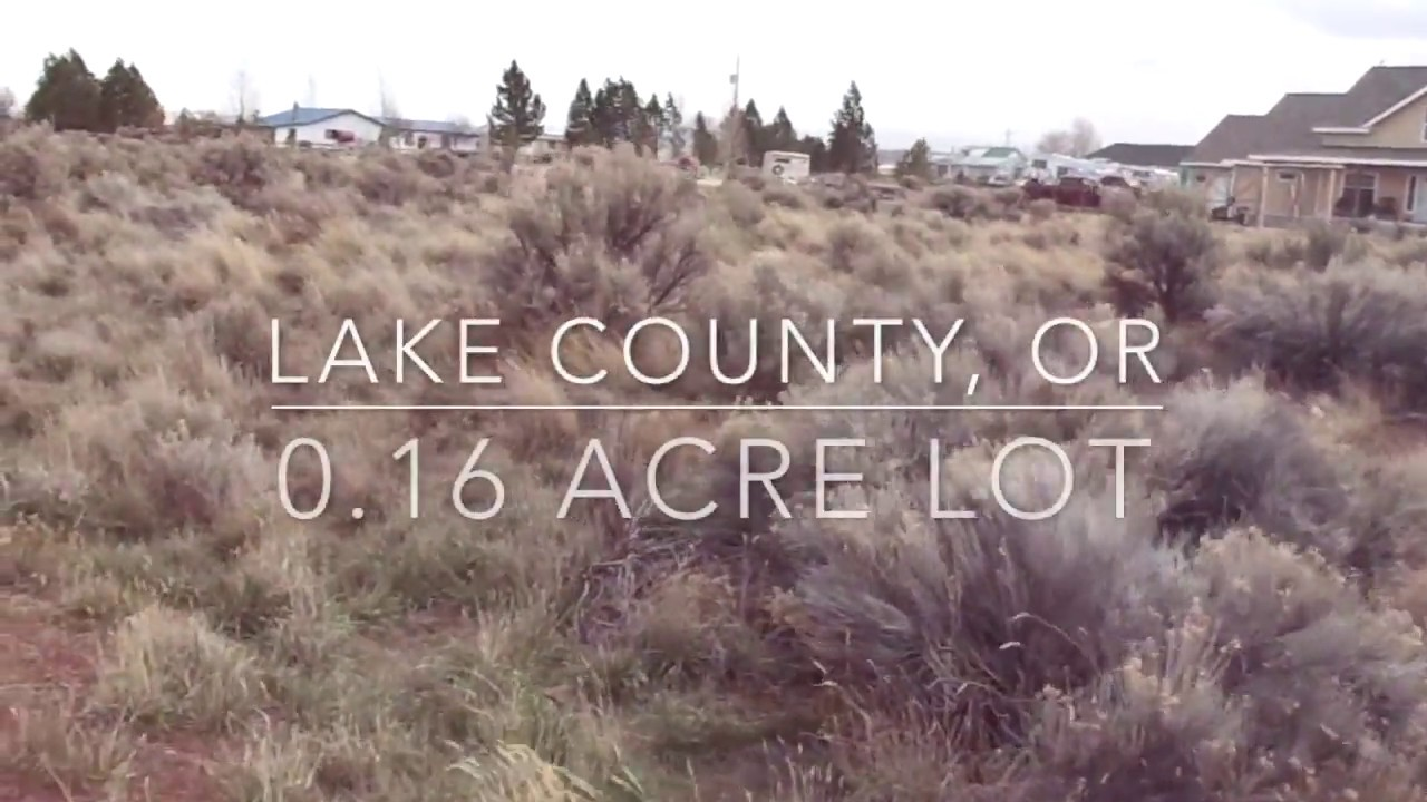 0.16 Acre lot in Lake County, Oregon! Owner Financing!