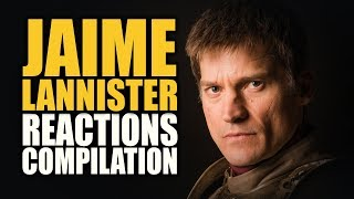 Game of Thrones JAIME LANNISTER Reactions Compilation