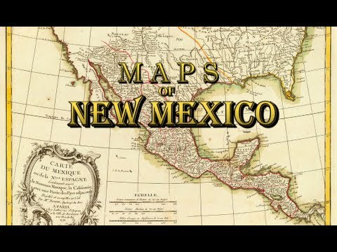 New Mexico On World Map.Moments In Time Maps Of New Mexico New Mexico Pbs Youtube