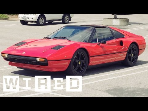 The Electric Ferrari 308 GT - The Car That Shouldn't Exist | WIRED