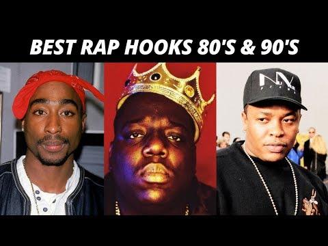 Best Rap Hooks Of The 80s & 90s
