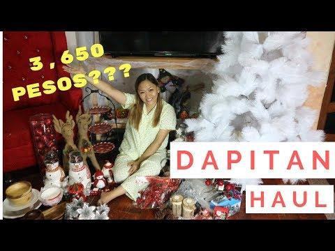 3, 450 na XMAS TREE at DECOR??? | Dapitan Haul 2018 + Dapitan Arcade Home Decor | Mrs. Bailey