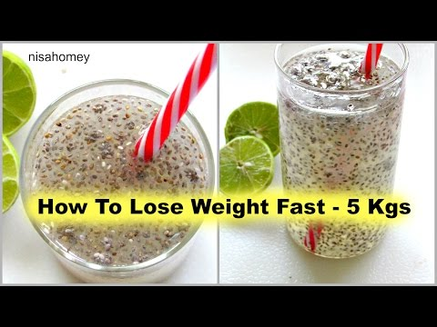 How To Lose Weight Fast – 5kg | Fat Cutter Drink | Fat Burning Morning Routine