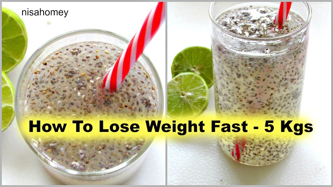 How To Lose Weight Fast - 5kg | Fat Cutter Drink | Fat ...