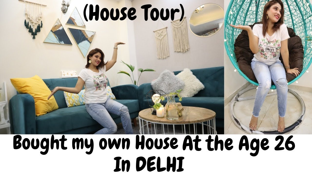 Own house at 26yrs.    HOUSE TOUR♥️    biggest dream