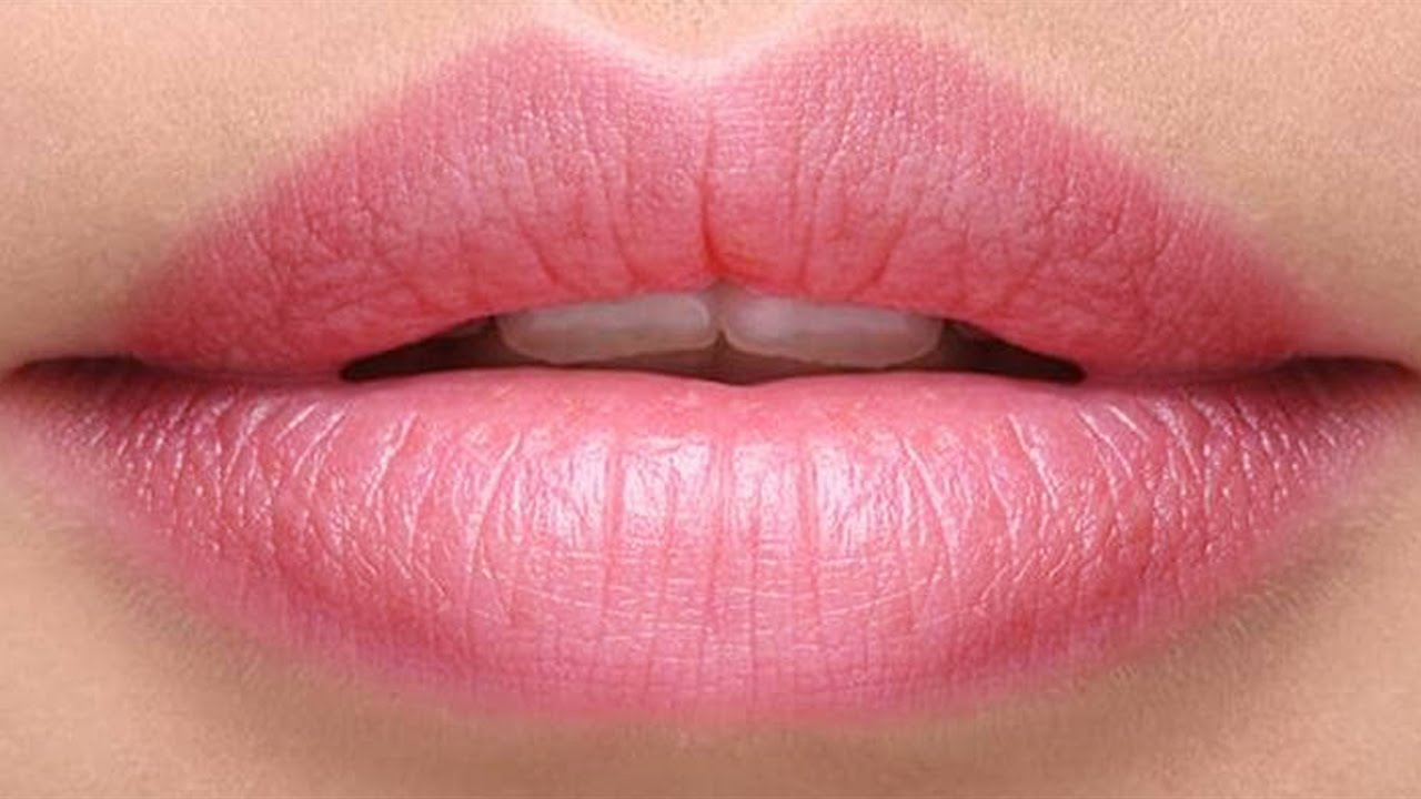 Beautiful Pink Lips Stock Image - Image: 2242641