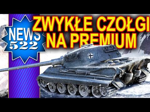 Zamiana zwykłych czołgów na premium? - NEWS - World of Tanks