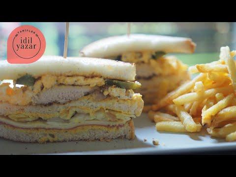 Kulüp Sandviç Nasıl Yapılır ? - İdil Yazar - Yemek Tarifleri