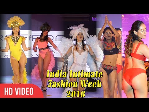 UNCUT - India Intimate Fashion Week 2018 | Viralbollywood