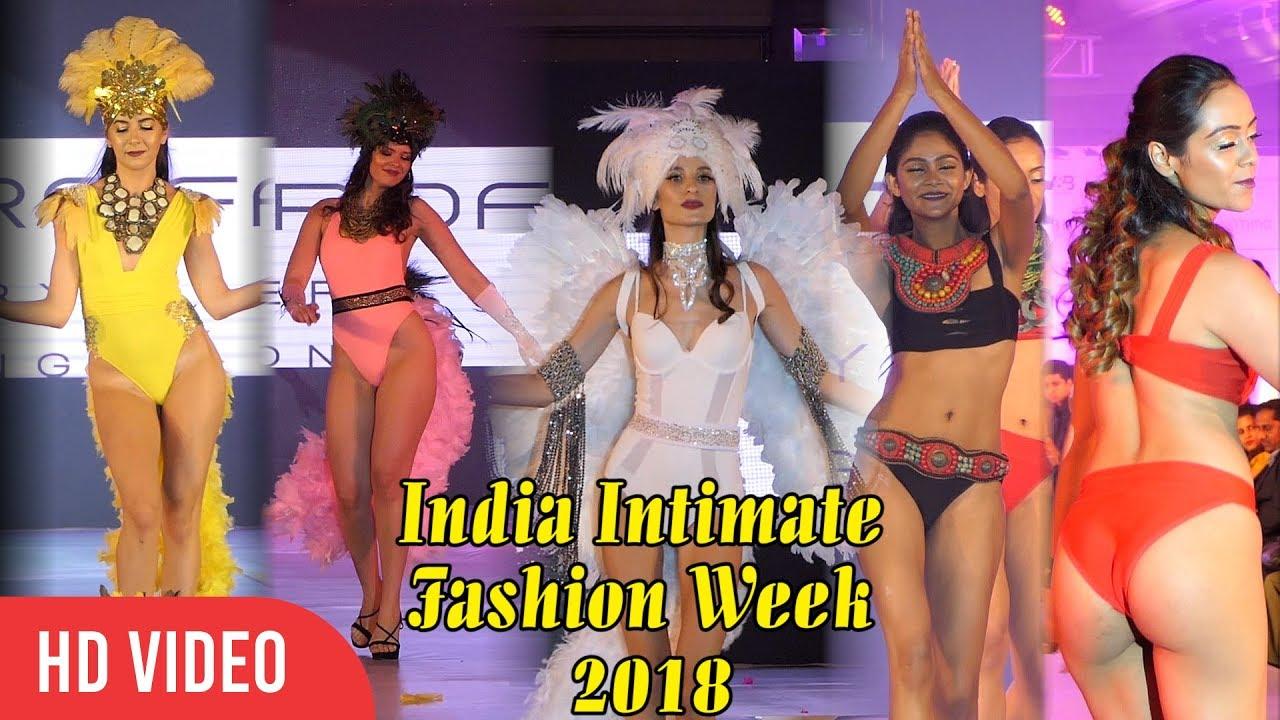 b02a35fcf UNCUT - India Intimate Fashion Week 2018