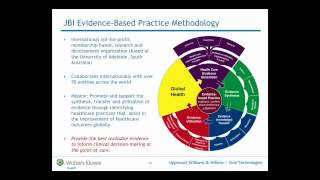 Evidence-Based Practice: Improving Practice, Improving Outcomes (Part One)