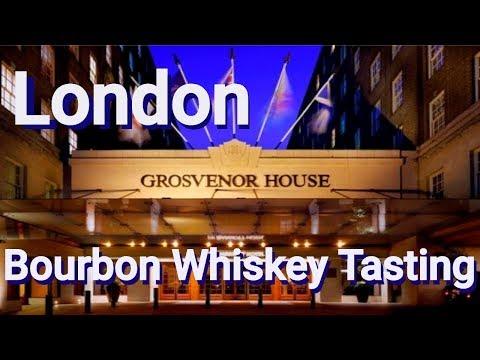 London Bourbon Tasting At  J.W. Grosvenor House Hotel Bourbon Bar In England