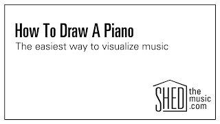 How to draw a keyboard