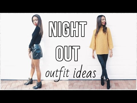 Night Out Outfit Ideas! ♡ (Girls Night Out, Dinner, ETC.)